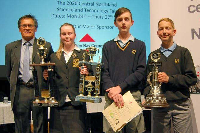 Central Northland Science and Technology Fair 2019 – Best of Fair Winners